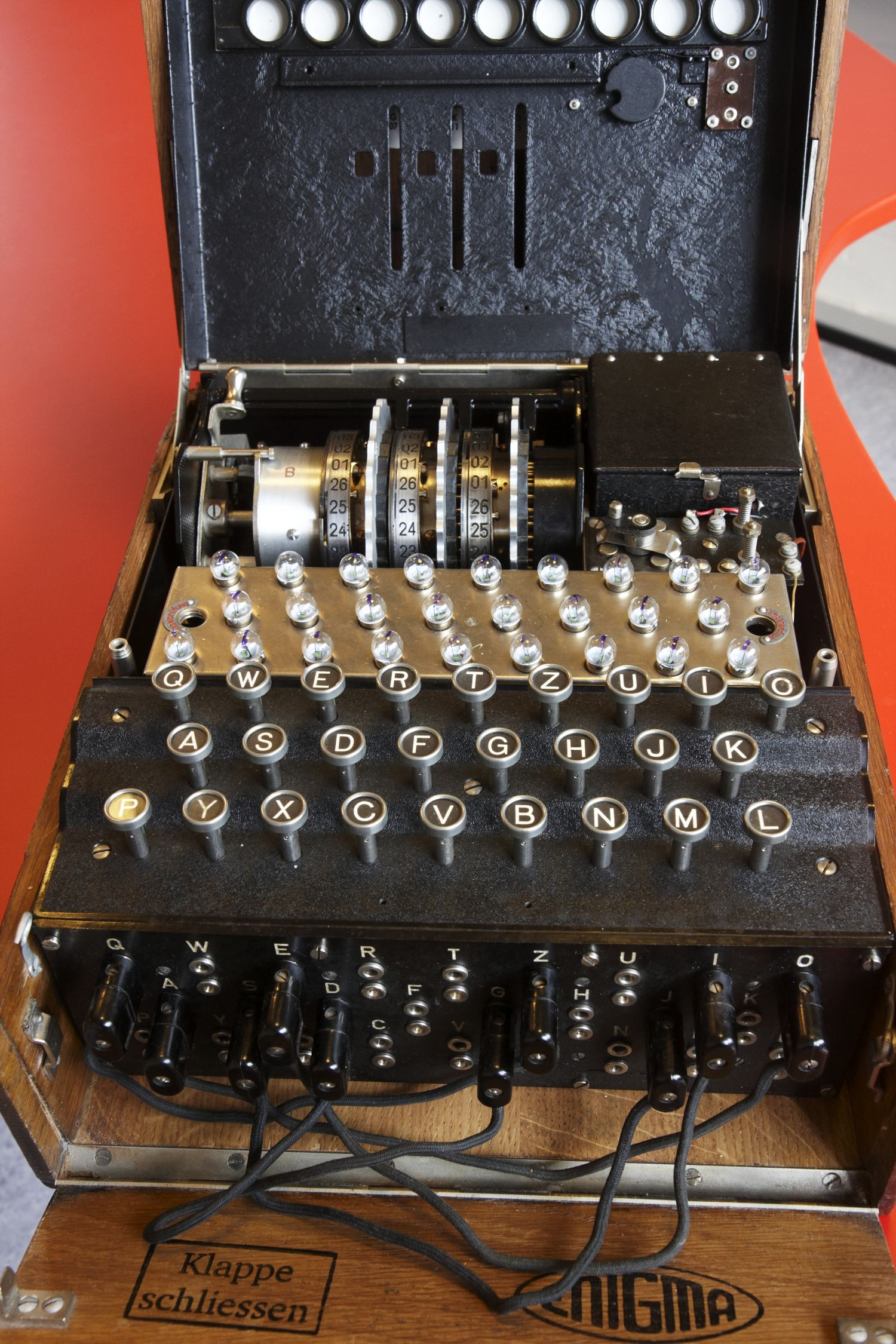 The Enigma Machine From Dtu Danmark