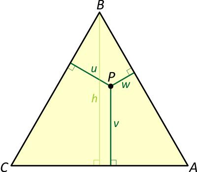 lige side trekant